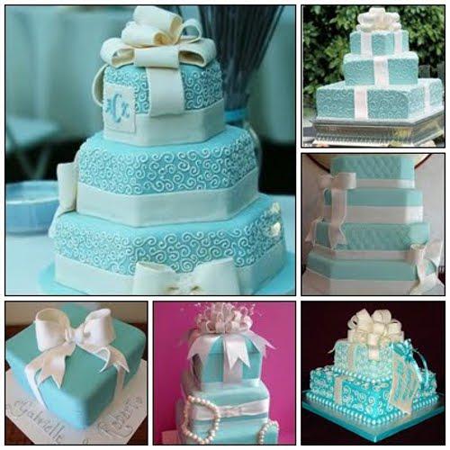 O azul deixa o bolo bem lindo e com uma ótima aparência