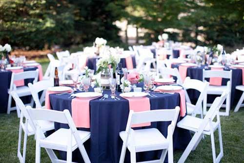 deixe tudo mais romântico com o azul e rosa
