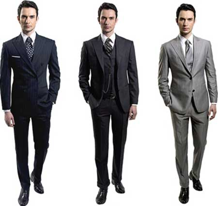 Os ternos escuros são mais clássicos e discretos