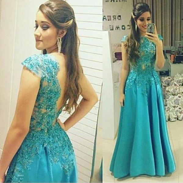 Vestido azul tiffany mercado livre