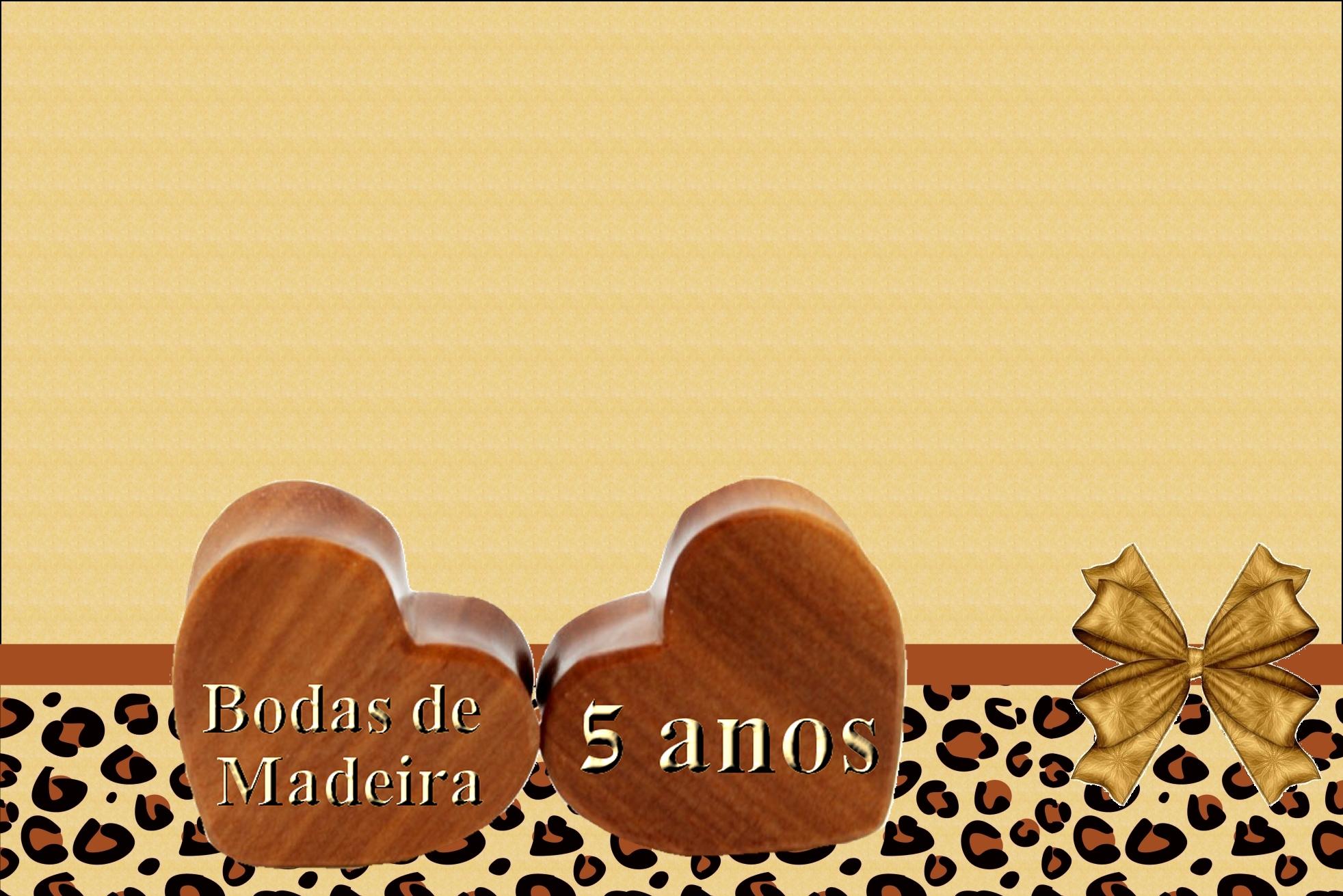 Bodas De Madeira 40 Fotos Decoração Mensagens E Como Organizar