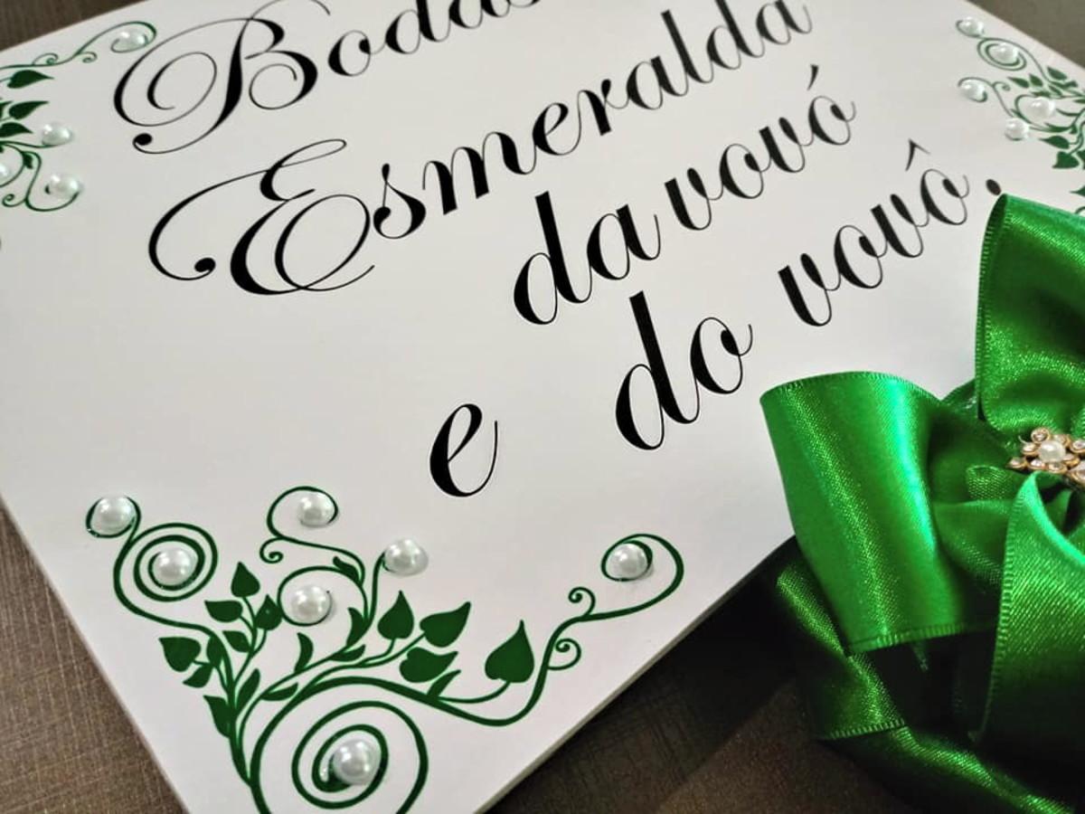 Bodas de Esmeralda
