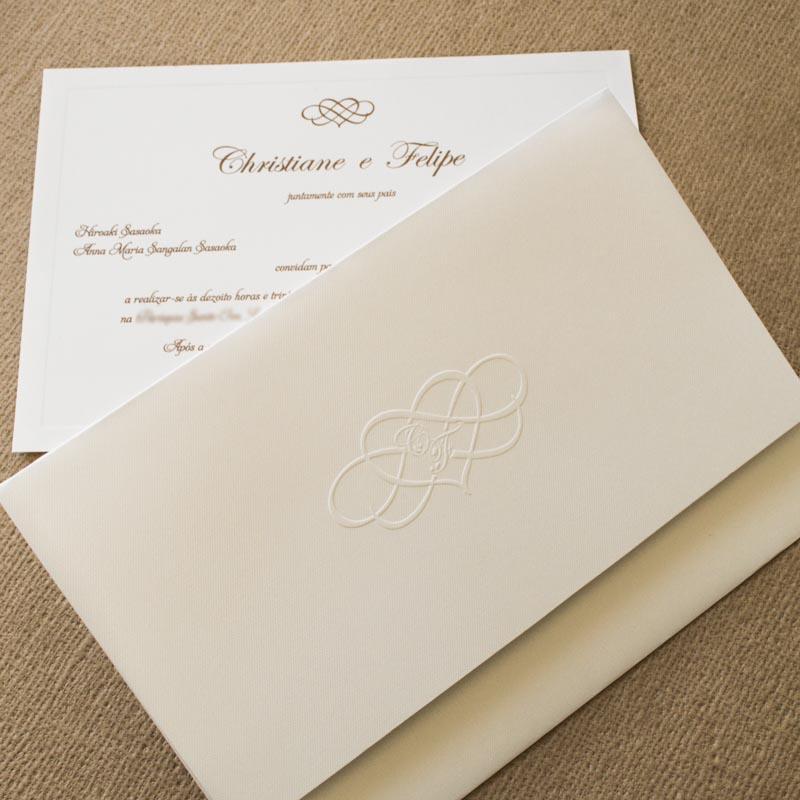 Papel para Convite de Casamento