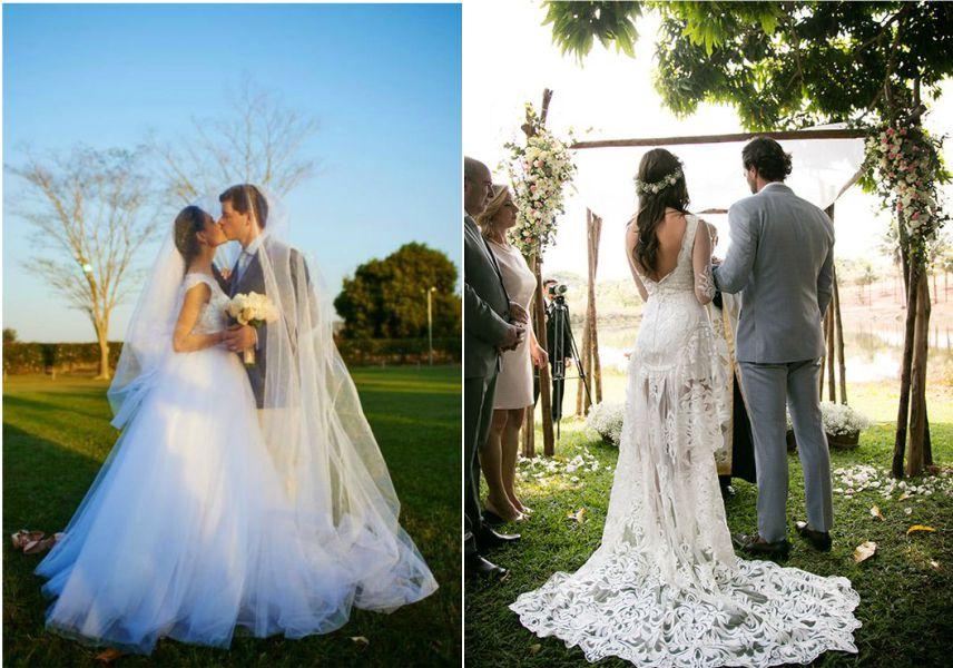 Vestido de Noiva para Casamento no Campo