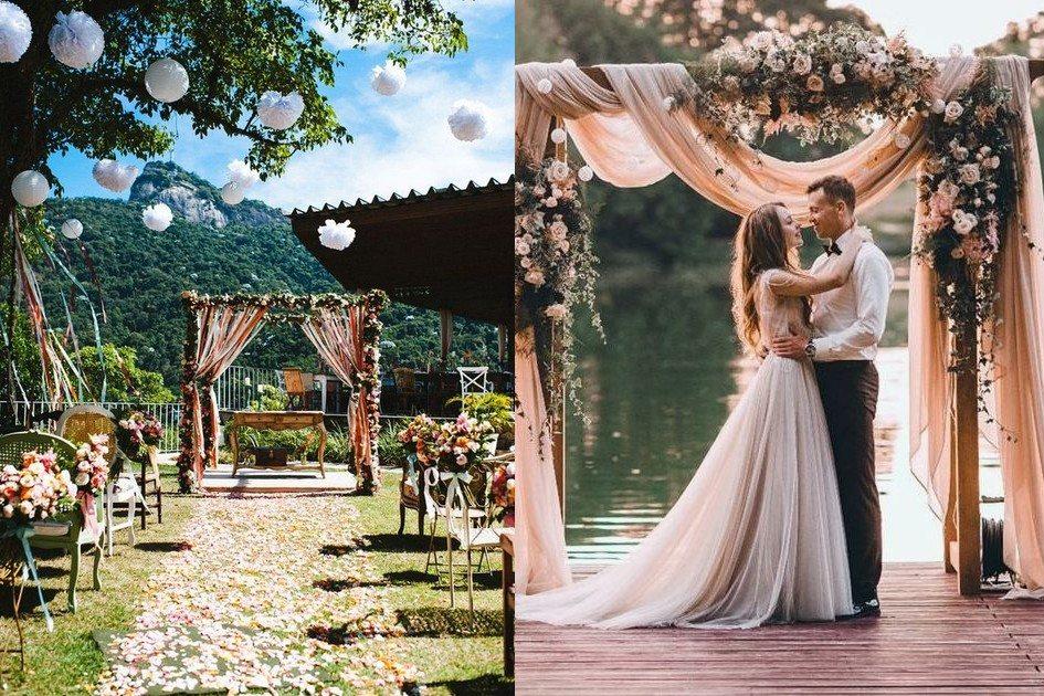 Casar ao ar Livre