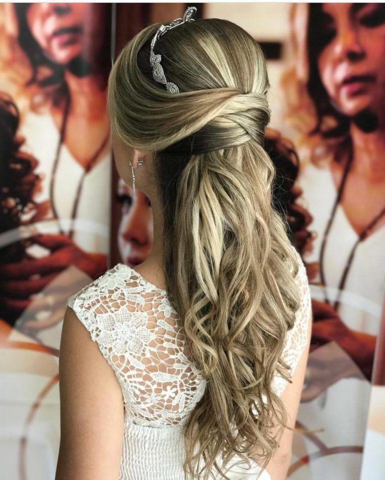 Penteados para Noivas Cabelos Longos