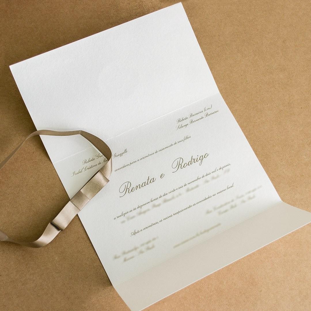 Modelos de Convites de Casamentos