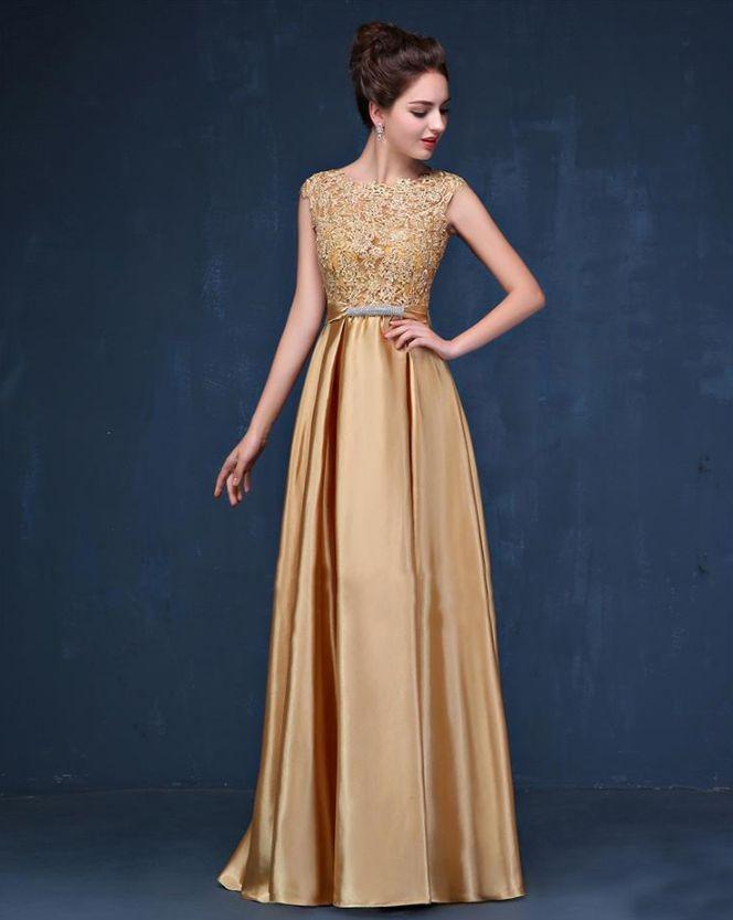 Vestidos de Madrinhas Dourado