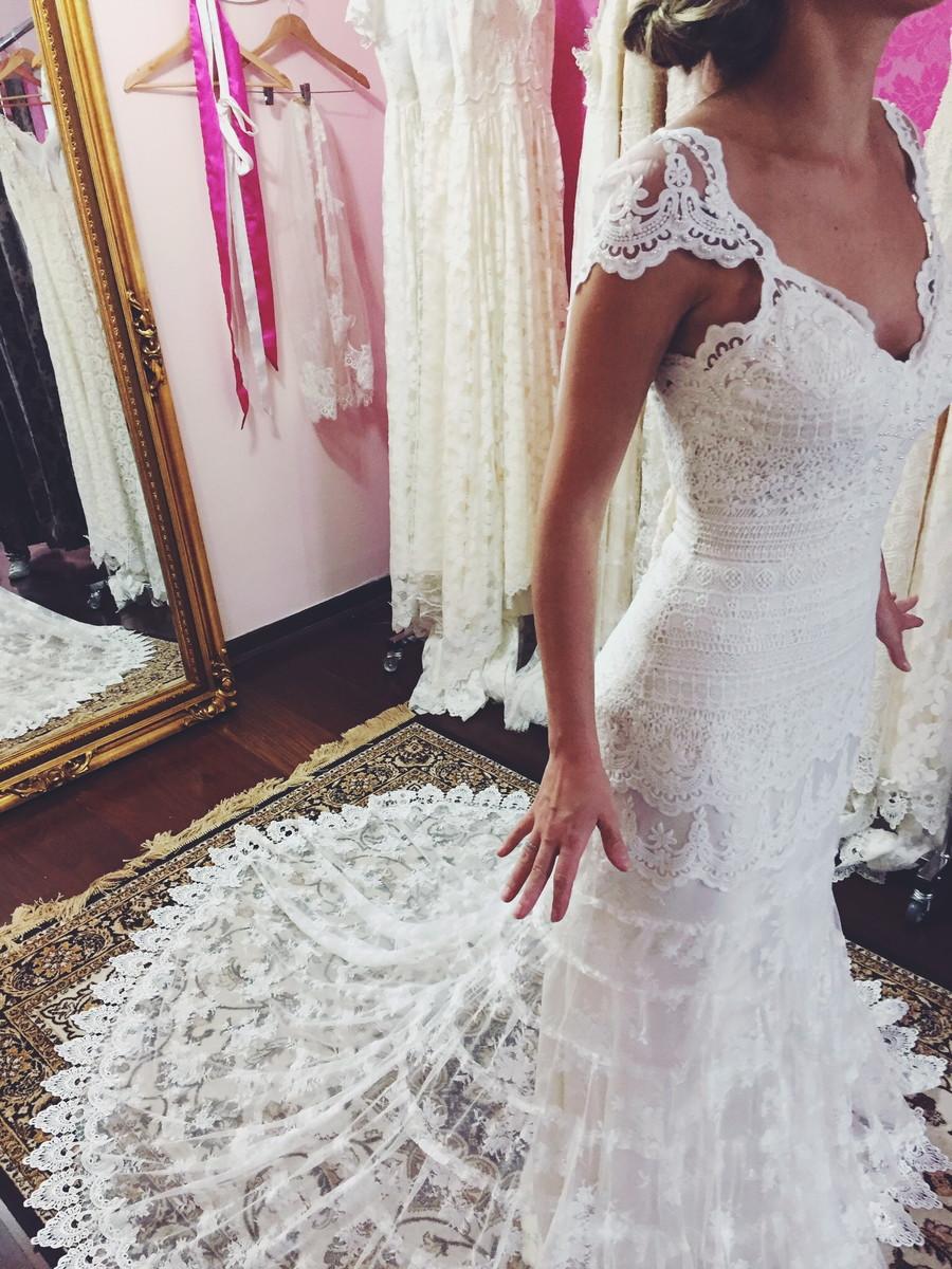 Vestido de Noiva Boho - 30 Modelos elegantes e Chic, Onde