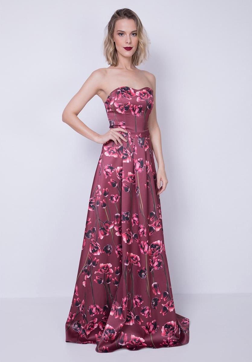 Vestido de Madrinha Longo