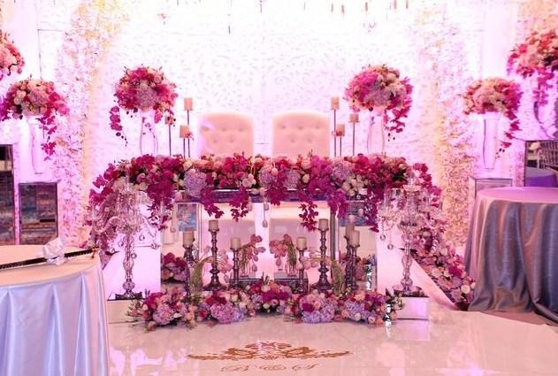 Decoração de Casamento Rose