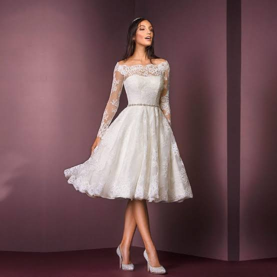 Vestidos de Noivas Manga Longa
