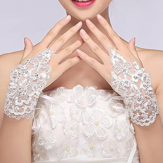 Luva de noiva