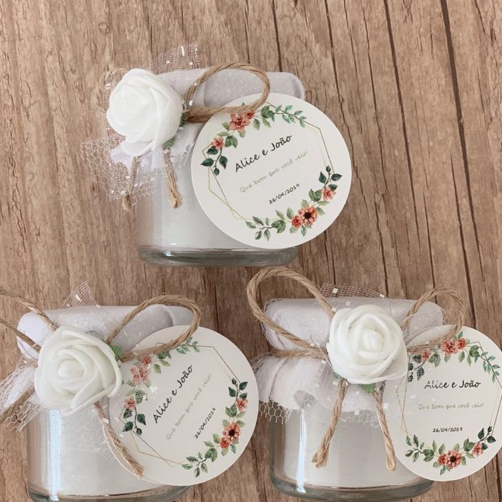 Lembrancinhas de chá de cozinha simples e barata