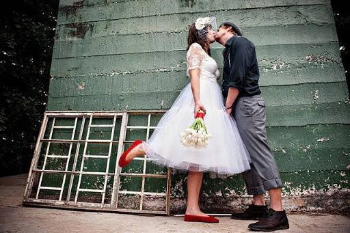 Sapatilha para noiva