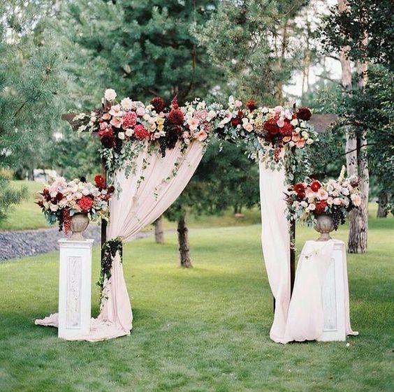 Arco De Flores Para Casamento